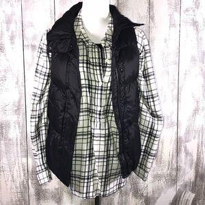 Gap XS Black Puffer Vest